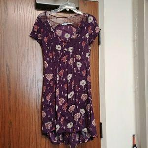 Widlflower Poppy Purple Dress Violet Harmon